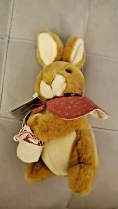 **NEW** Eden Cotton-Tail Plush stuffed animal Beatrix Potter Peter Rabbit Sister
