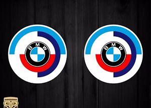 Aufkleber Decal Sticker X2 BMW Vintage Logo Classic