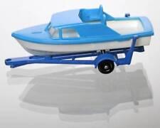 "Vintage 1960's ""Matchbox"" Lesney No. 9 Boat, Trailer / Clean"