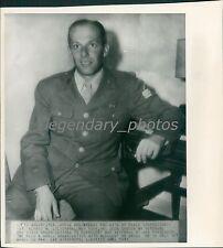 1945 Lilienthal Represents War Veterans at UN Conference Original Wirephoto