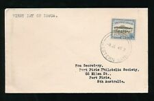 SAMOA 1949 APIA POST OFFICE 5d FIRST DAY COVER