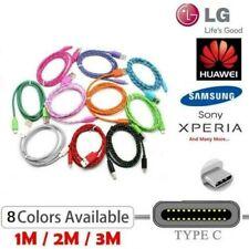Pour LG V30 G6 G5 K30 Q8 Q7 Nexus 5X Type C Usb-C Sync Tressé Chargeur Câble