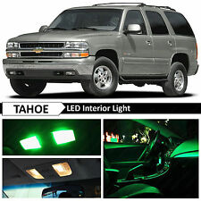 20x Green LED Lights Interior Dome Package Kit for 2000-2006 Chevy Tahoe Yukon
