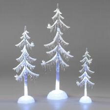 Dekobaum mit Vogel Acryl mit LED-Licht Weihnachtsbaum Weihnachtsdeko formano