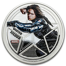 "2016 Fiji Prf Silver ""Captain America: Civil War"" Winter Soldier - SKU #97889"