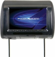 Universal Replacement Headrest Preloaded w/ DVD Player & 7-in LCD