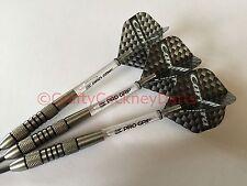 20g Nodor Nimrod Tungsten Darts Set, Target Carrera Flights, Pro Grip Stems