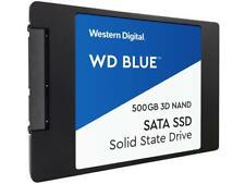 """WD Blue 3D NAND 500GB Internal SSD - SATA III 6Gb/s 2.5""""/7mm Solid State Drive -"""