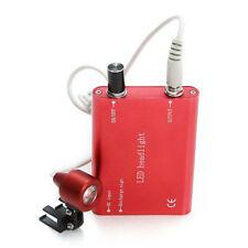 *From USA For Dental Loupe Binocular Portable Dental LED Head Light/lamp Red