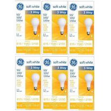 GE Lighting Incandescent Bulbs Soft White 3way 97494 50/100/150Watt 2155Lumen
