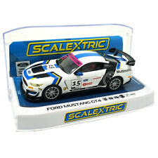 Scalextric C4173 Ford Mustang GT4 británica GT 2019 Mult Motorsports 1/32 ranura de coche