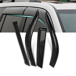 Weathershields for Nissan Navara D40 Dual Cab 06-15 Weather shield Visor Cover