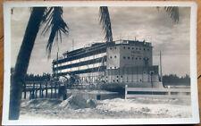 1930 Ft. Lauderdale, FL Realphoto Postcard: Amphitrite Floating Hotel - Florida