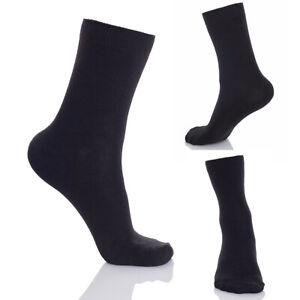 Men Trainers Sports Socks Multipack Classic Black Premium Quality 5Pairs CW1401C