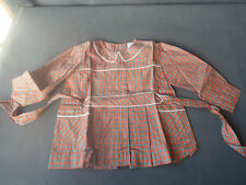 old blouse schoolboy THE TREFORT, clothing vintage, old school old French