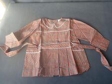 Ancienne blouse d'écolier LE TREFORT, vêtement vintage, vieille école old French