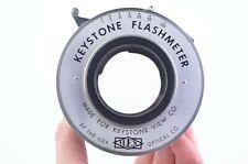 ILEX OPTICAL KEYSTONE FLASHMETER LARGE FORMAT SHUTTER, WORKS, BAD SLOW SPEEDS