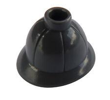 Lego 2 Stück Tropenhelm in dunkelgrau (dark bluish gray) Helm 30172 Pith Helmet