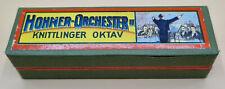 Alte Hohner Mundharmonika in OVP, Hohner Orchester II, Knittlinger Oktav