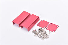 Red Extruded Aluminum Project Box Enclosure Case Electronic DIY- 50*25*25mm#1