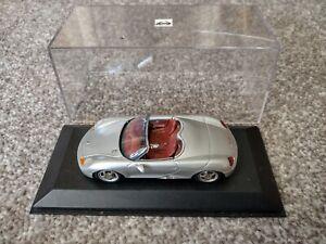 Minichamps 1/43 Scale Diecast MIN 063130A - Porsche Boxster - Silver