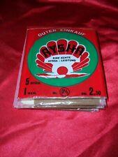 RAR 5 einzelne (2,5 Paar) Aysha Vintage NYLONS Nylonstrümpfe Gr. 9,5 Stockings