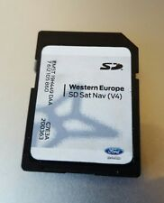 FORD SONY MFD NON TOUCH NAVIGATION SAT NAV SD CARD MAP V4 FOCUS C-MAX TRANSIT