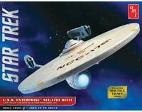 AMT1080 Star Trek USS Enterprise NCC-1701 Refit w/ Shuttle Craft 1:537 Model Kit