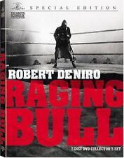 Raging Bull Movie 2 Dvd Set, Collectors Edition) Martin Scorsese Robert De Niro