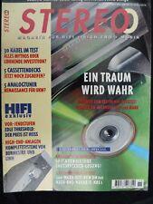 STEREO 11/95,BURMESTER 911 MK2 MONO,TRESHOLD T 3,400,PIONEER PDR 05,REVOX SCALA