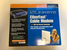 Cable Modem with USB & Ethernet Connection Linksys EtherFast