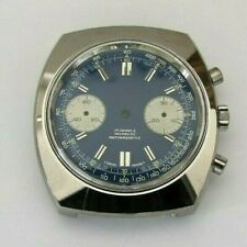 Valjoux 7733 chronograph case with dial. NEW OLD STOCK swiss made