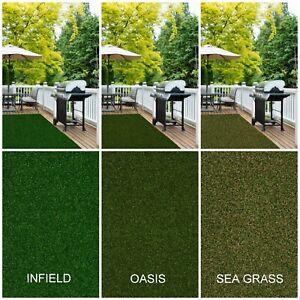 Park Central Infield Indoor Outdoor Premium Artificial Grass Turf No Binding