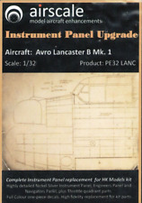 Airscale 1/32 Avro Lancaster B Mk.1 Instrument Panel Photoetch & Decals PE32LANC