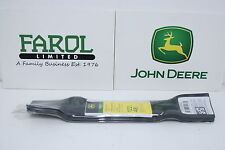 More details for genuine john deere blade set x165 gy20852 ride-on mower pack of 3 d140 d150 d155