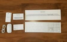 Apple Magic Keyboard 2 and Magic Mouse 2 Wireless Bluetooth Lot