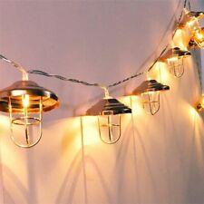 Nuevo LED Cadena de Luces 10 Leds con Único Pantalla Lámpara Decorativo Navidad