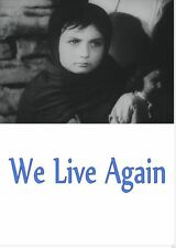 WE LIVE AGAIN  (1946) * with hard-encoded English subtitles *