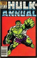 Incredible Hulk Annual #12-1983 fn+ 6.5 Anderson / Hulk on the planet Cynet VII