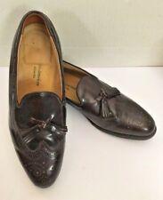 Oakton American Biltrite Imerial 10.5 D Oxford Loafers Tassle Black