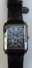 Cerruti 1881 Men's Firenze Swiss Quartz Black Watch CRB011E222B NIB