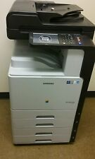REFERBISHED SAMSUNG COLOR COPIER CLX-9201 WITH 109K TOTAL COPIES AND 2 TRAYS