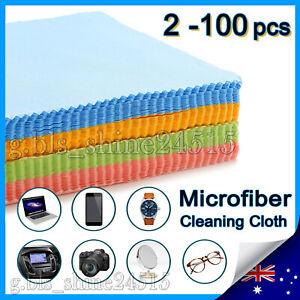 Microfiber Cleaning Cloth Camera Lens Eye Glasses Phone Screen Jewellery Wipes