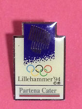 OLYMPIC PIN´S LILLEHAMMER 1994 OLYMPIC GAMES PARTENA CATER OLIMPICO -PIN  (E138)