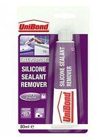 Unibond Silicone Sealant Remover - 80ml Tube Mastic Bathroom Kitchen