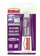 Unibond Silicone Sealant Remover - 80ml Tube Mastic Bathroom Kitchen