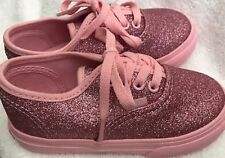 Vans Authentic - Shimmer Bright Pink toddler 7.5