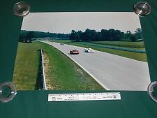 "Vintage Large 16"" x 24"" Photograph of N.A.R.T. # 38 Formula 1 Race Car 1960's/70"