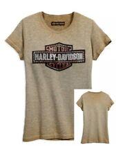 with twisted trim 96092-17VW 80/% Off Harley-Davidson Slim Fit Womens Hi-Low Hem