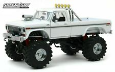 1979 FORD F-250 MONSTER TRUCK W/ 48-INCH TIRES WHITE 1/18 MODEL GREENLIGHT 13556